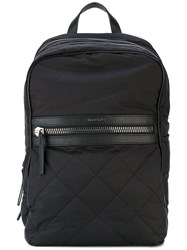Moncler Thieghy Backpack Men Calf Leather Polyamide Polyester One Size Black