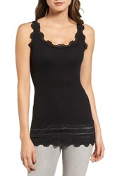 Rosemunde Women's Silk And Cotton Rib Knit Tank