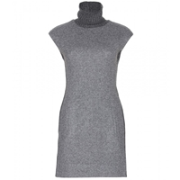 Polo Ralph Lauren Sleeveless Dress With Turtleneck Grey