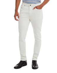 Kenneth Cole Weft Skinny Jeans White
