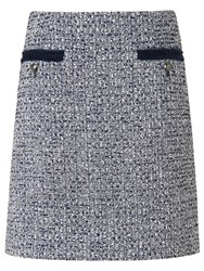 Lk Bennett L.K. Astrala Tweed Skirt Multi