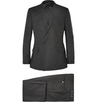 Kilgour Grey Slim Fit Alpaca Blend Suit Gray