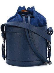 Desa 1972 Bucket Shoulder Bag Blue