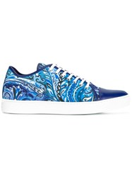 Etro Abstract Print Sneakers Blue