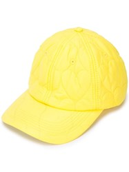 Opening Ceremony Heart Quilted Cap Yellow