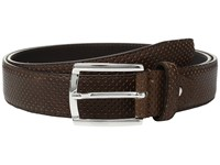 Bugatchi Nero Perforated Belt Marrone Men's Belts Brown