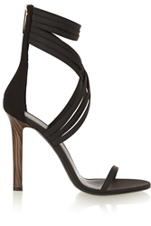 Tamara Mellon Boom Boom Leather And Scuba Sandals
