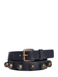 Philosophy Di Lorenzo Serafini 25Mm Studded Nappa Leather Belt