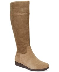 Easy Spirit Jarada Tall Boots Women's Shoes Taupe