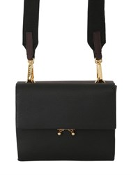 Marni Two Tone Leather Double Pouch Bag