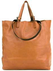 Officine Creative Seura Tote Women Horse Leather One Size Brown