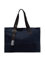 Vilebrequin Large Canvas Bag Navy