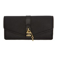 Chloe Black Aby Long Continental Wallet