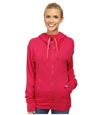 Black Diamond Castle Valley Hoodie Rose Red Women's Sweatshirt Pink