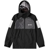Junya Watanabe Man Eye Reflective Hooded Jacket Black