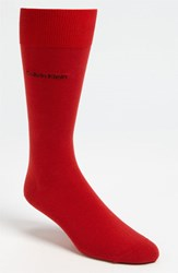 Men's Calvin Klein 'Giza' Socks Red