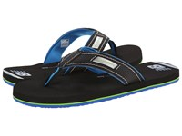New Balance Heritage Thong Black Blue Men's Sandals