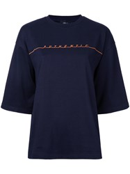 G.V.G.V. Authentic T Shirt Blue