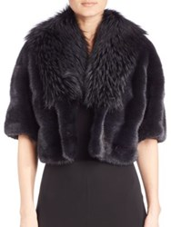 Michael Kors Mink And Fox Fur Jacket