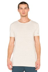 Scotch And Soda Long Tee Beige