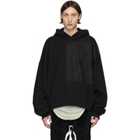 Haider Ackermann Black Perth Patch Hoodie