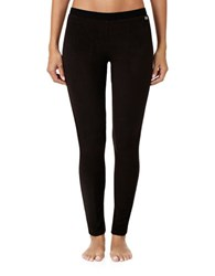 Dkny Solid Pull On Leggings Black