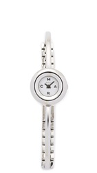 Marc By Marc Jacobs Dinky Donut Bangle Watch Silver
