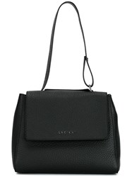 Orciani Small Top Handle Tote Black