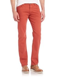 7 For All Mankind Slimmy Garment Washed Jeans Cayenne
