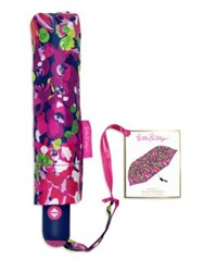 Lilly Pulitzer Nylon Travel Umbrella No Color