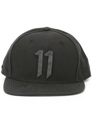 11 By Boris Bidjan Saberi Logo Cap Black