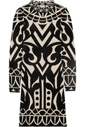 Temperley London Jani Chenille Intarsia Stretch Knit Dress