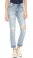 Blank Slim Straight Distressed Jeans Stumble Home