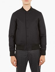 Officine Generale Black Flannel Leon Teddy Jacket