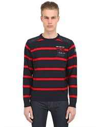 Paul And Shark Kipawa Striped Wool Knit Sweater