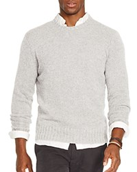 Polo Ralph Lauren Cashmere Crewneck Sweater Fortress Grey Heather