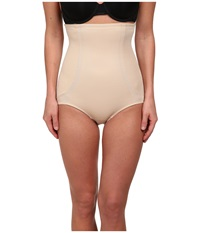 Miraclesuit Full Hip High Waist Brief Nude Women's Underwear Beige
