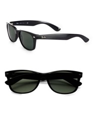 Ray Ban New Wayfarer Sunglasses Dark Tortoise Black