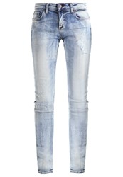 Ltb Clara Slim Fit Jeans Semilla Destroyed Denim