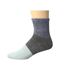 Richer Poorer Riker Ankle Navy Black Women's Crew Cut Socks Shoes Blue