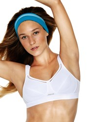 Shock Absorber Classic Sports Bra White