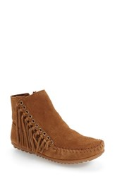 Minnetonka Women's 'Willow' Fringe Bootie