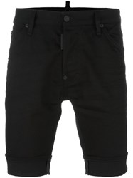 Dsquared2 Mod Denim Shorts Black