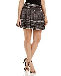 Twelfth St. By Cynthia Vincent Twelfth Street By Cynthia Vincent Ruched Patterned Skirt Small Geo Print