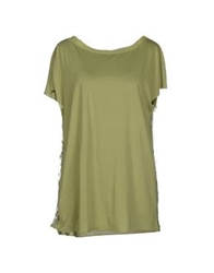 Semi Couture T Shirts Green