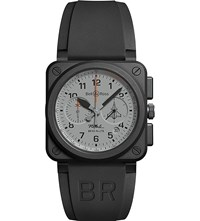 Bell And Ross Br0394rafalece Rafale Ceramic Aviation Watch