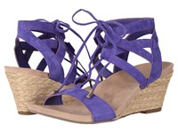 Vionic Noble Tansy Purple Women's Wedge Shoes