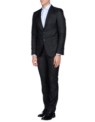 Asfalto Suits And Jackets Suits Men Black