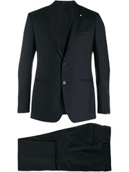Lardini Formal Suit Set Blue