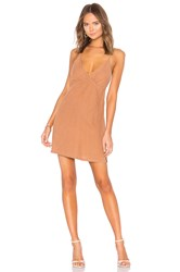 Yfb Clothing Lexington Dress Tan